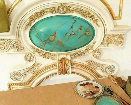 تزئینات و رنگ آمیزی ساختمان